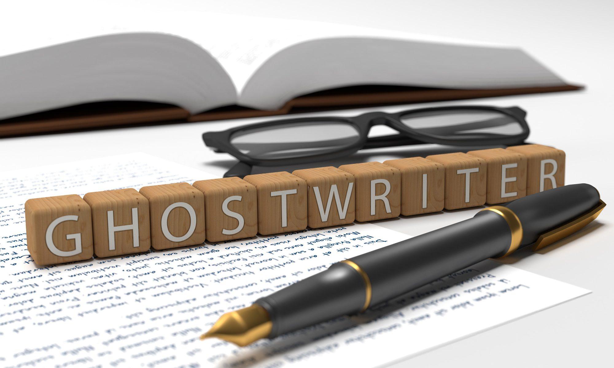 Ghostwriter fees